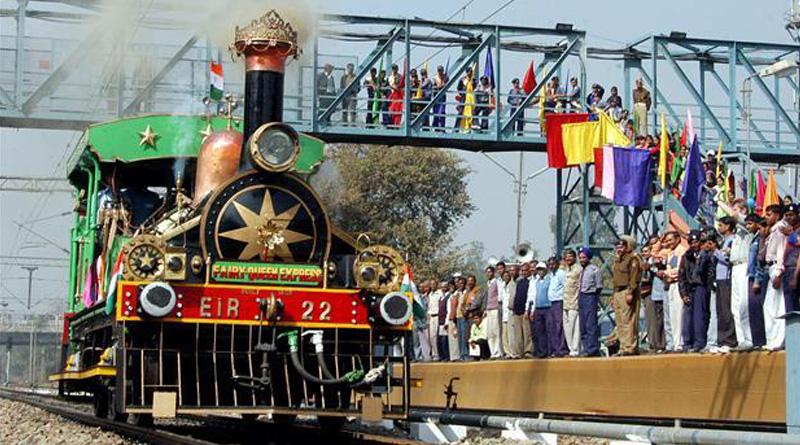 Fairy Queen, world's oldest locomotive rolls on Delhi tracks