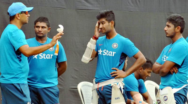 Dravid's U-19 team without any money for dinner