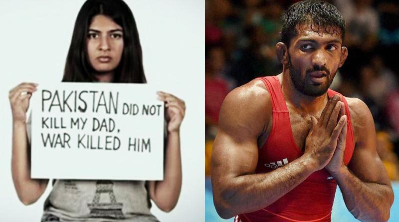 Wrestler Yogeshwar Dutt slams Gurmehar Kaur on twitter