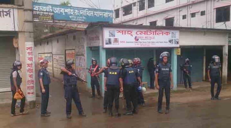 Fierce gunfight rages between security forces, terrorist in Bangladesh