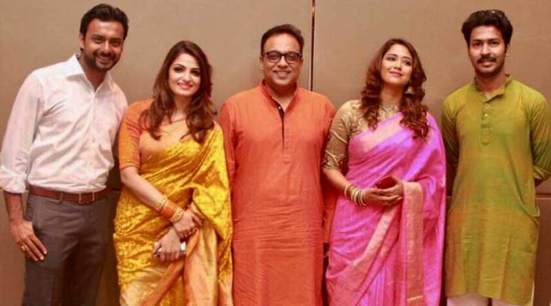 Trailer launch of Bengali film Durga Sohay