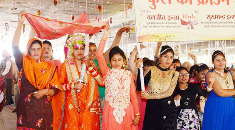 Punjab couple made marriage in different way