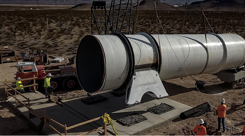 Los Angeles-based company Hyperloop One has announced five new lines in India