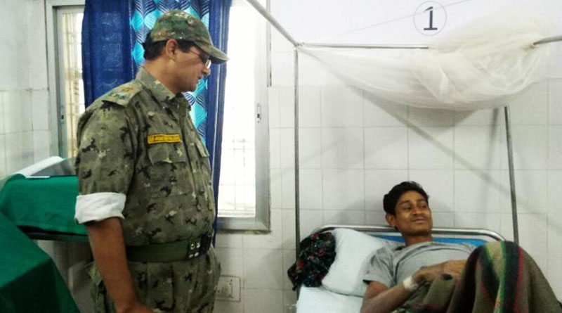 A true soldier: IPS officer saves Mao extremist after inflicting bullet wound