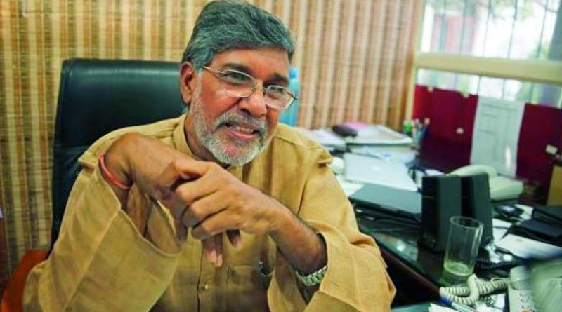 Kailash Satyarthi's Nobel citation found in Delhi