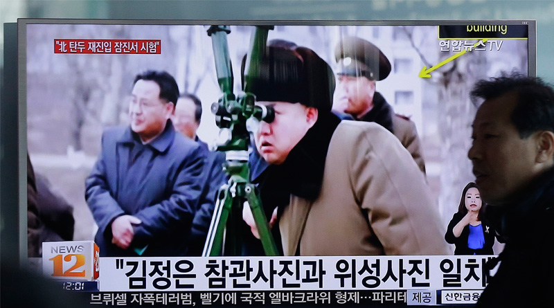 Us President Donald Trump and his military team are aware of North Korea's most recent unsuccessful missile launch