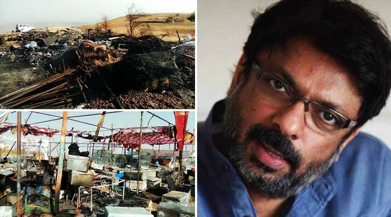 Bhansali's Padmavati set again attacked by fringe group