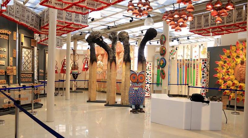 Theme Based Durga Puja museum inaugurated at Eco Park
