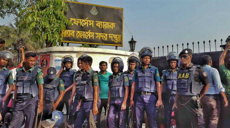 Fidayeen attack on RAB outpost in Dhaka, 1 killed