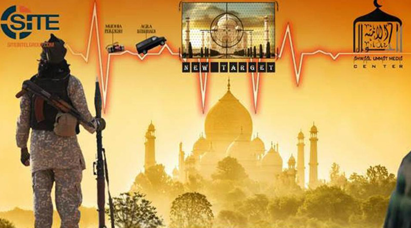 ISIS warns of attack on Taj Mahal, graphic shows heritage site as target