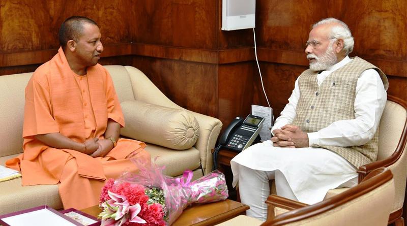 Yogi Aditynath meets PM Modi, discusses UP cabinet