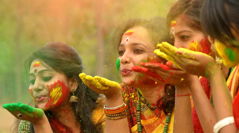 Shantiniketan gears for a colourfull Basant Utsav