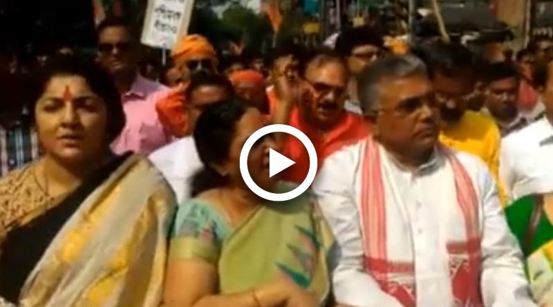 Seeking Mamata's resignation, BJP activists clash with police
