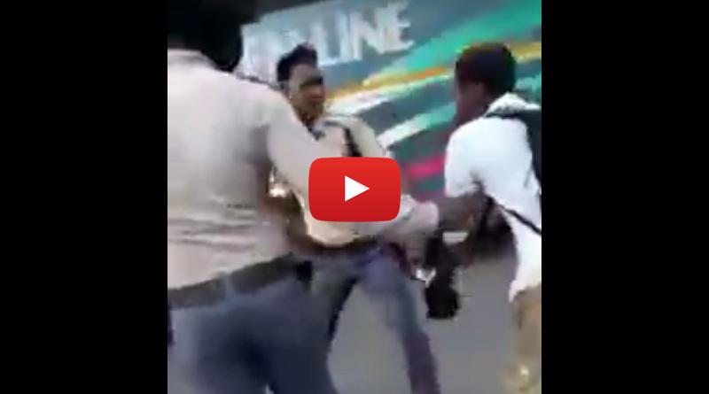 Asansol  civic volunteer brutally assaults trucker with helmet