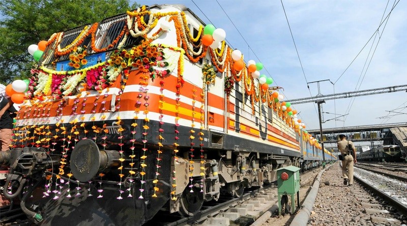 Indian railways plans trans-container goods train to boost trade