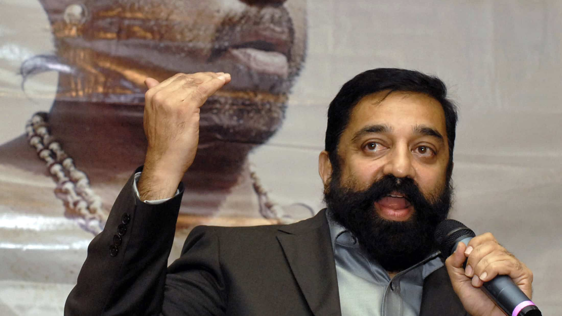 Case filed against Kamal Haasan for hurting religious sentiment