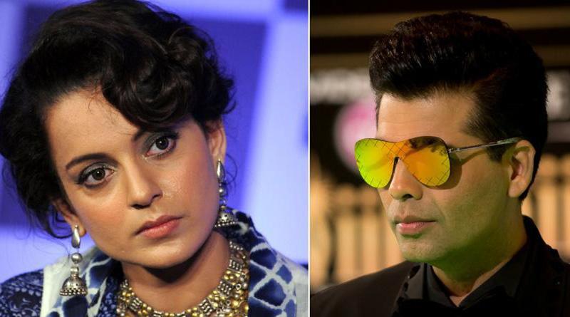 Fade Up with Kangna Ranaut playing victim card, says Karan Johar