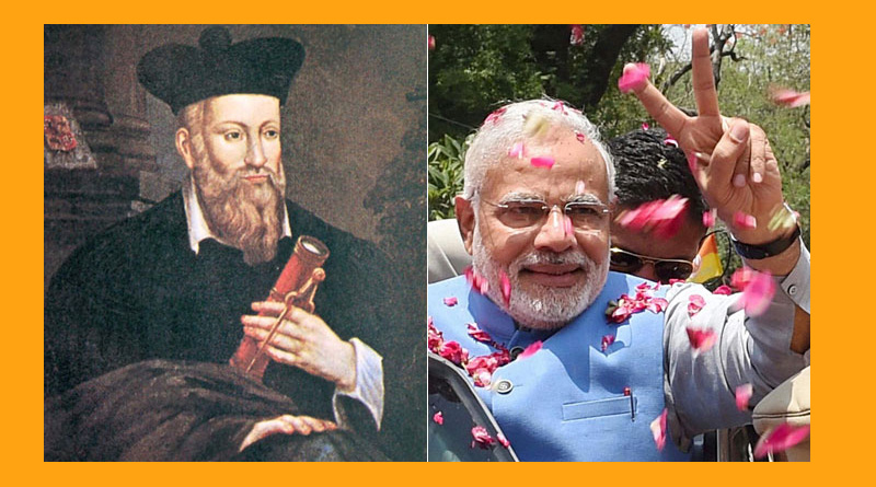 The supreme leader of India will be born in the state of Gujarat, Said Nostradamus