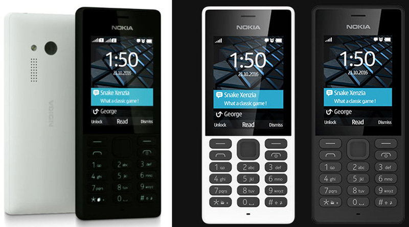 Nokia 150 Dual SIM Feature Phone is up for sale in India at Rs. 2,059