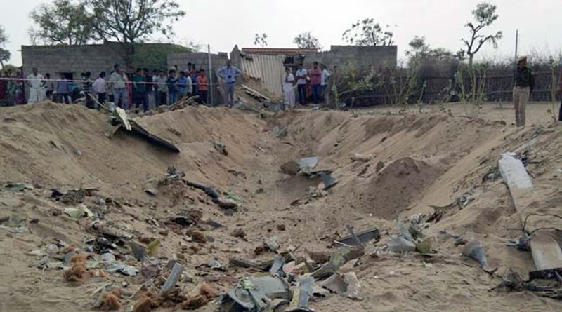 IAF's Su-30 jet crashes in Rajasthan