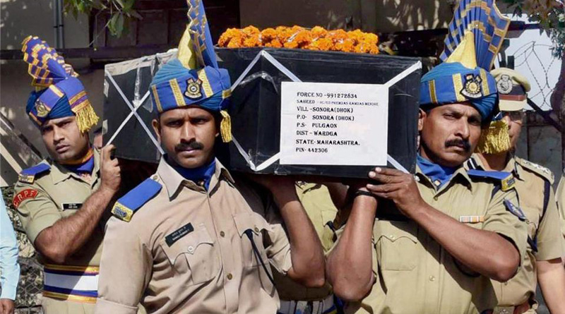 Mourning fallen comrades CRPF not to celebrate Holi
