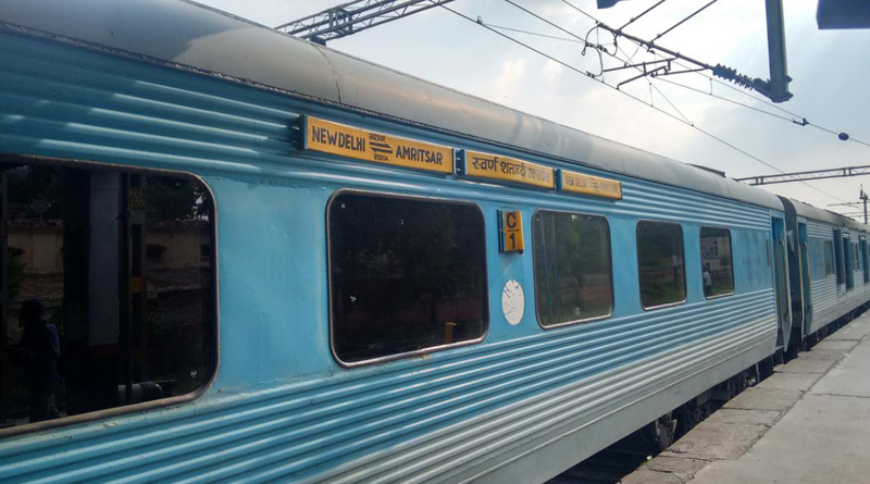 Ludhiana farmer became owner of Swarna Shatabdi train