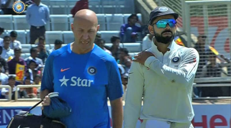 Aussies 'Disrespected' Indian Team Physio, alleges Virat Kohli