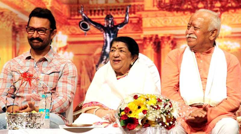 After 16 years Aamir Khan attends Master Dinanath Mangeshkar Awards