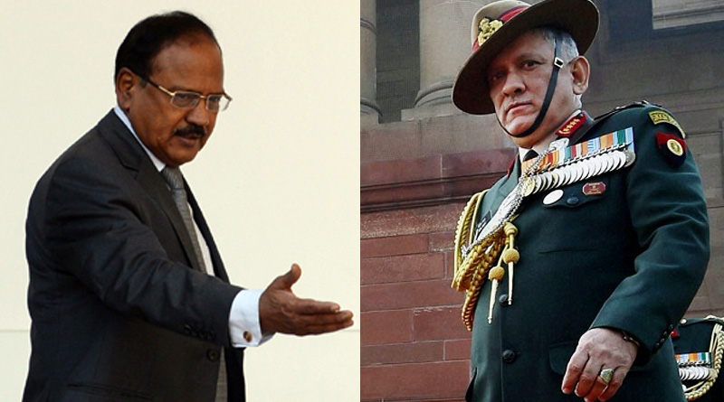 Army Chief Gen Bipin Rawat meets National Security Advisor Ajit Doval