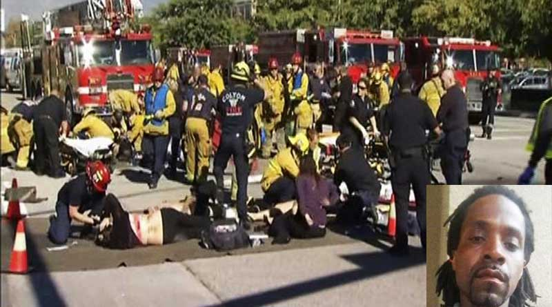 Gunman shouting 'Allah-Ho-Akbar' open fires in California, 3 dead