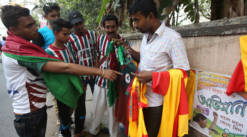 East Bengal vs mohunbagan I league Derby match day