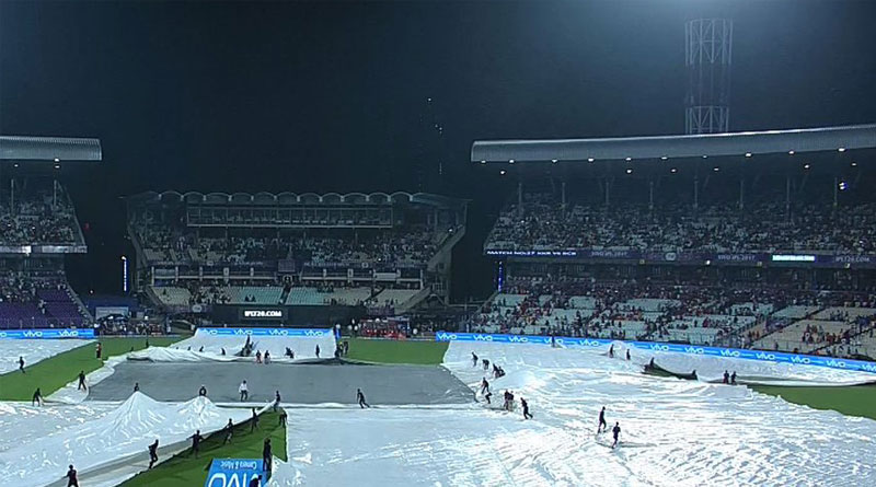 KKR vs RCB: The toss has been delayed due to rain