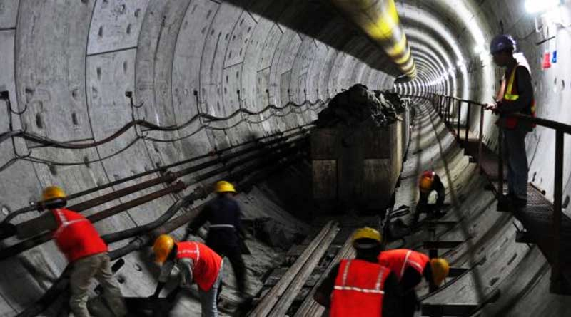 Tunnel Boring of East-West Metro to resume from 23rd July