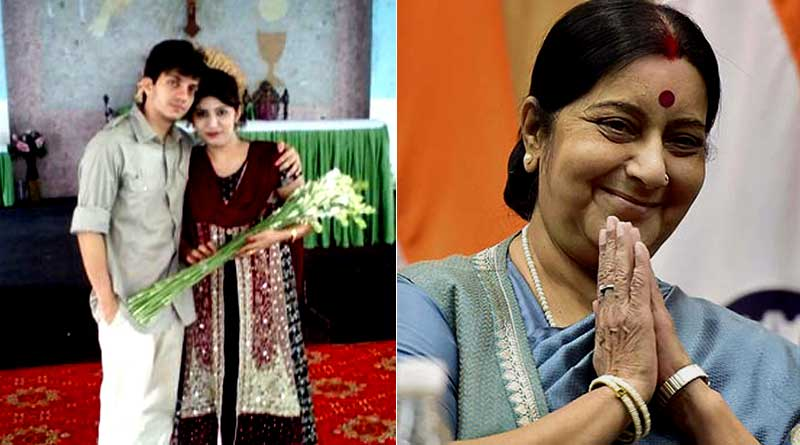 Indian man reunited with Pak wife, courtesy Sushma Swaraj
