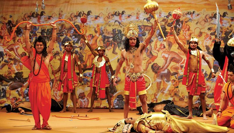 Yogi Adityanath proposes Ram Leela in Ayodhya