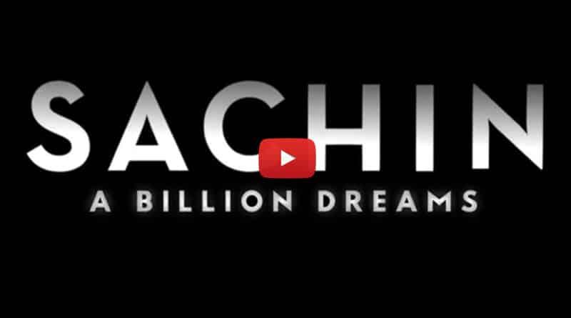Trailer of Sachin Tendulkar's biopic 'Sachin A Billion Dreams' released