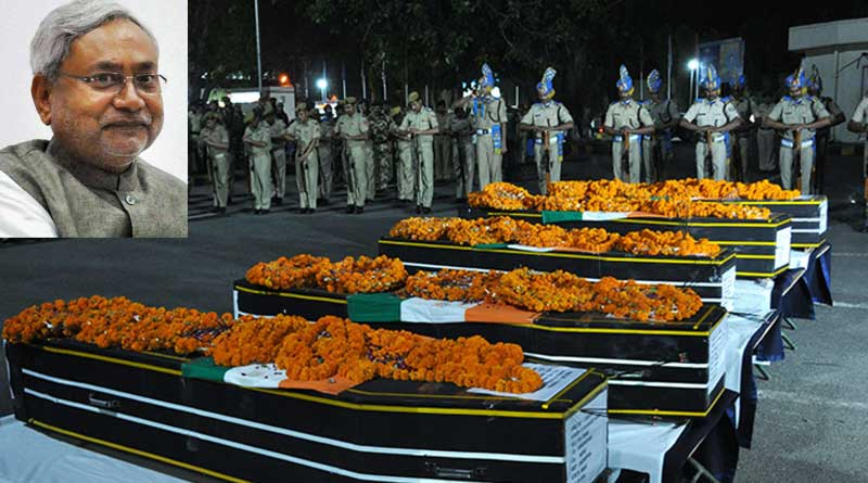 'Truck carrying Sukma Martyrs to pass Nitish Kumar's Convoy'