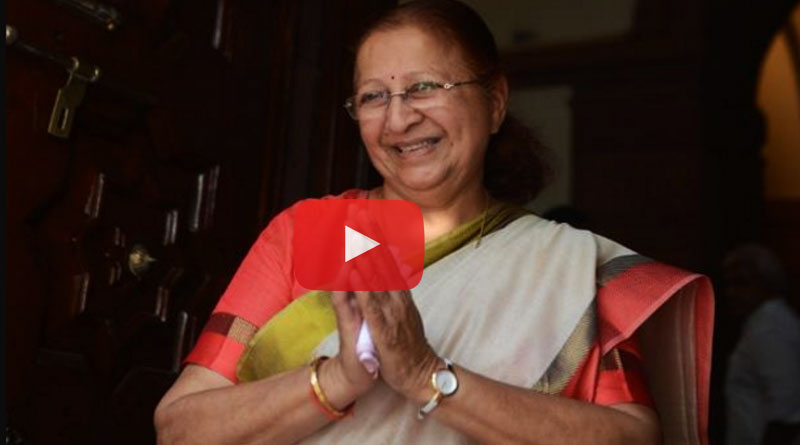 MP's all together wishes Speaker Sumitra Mahajan on her birthday