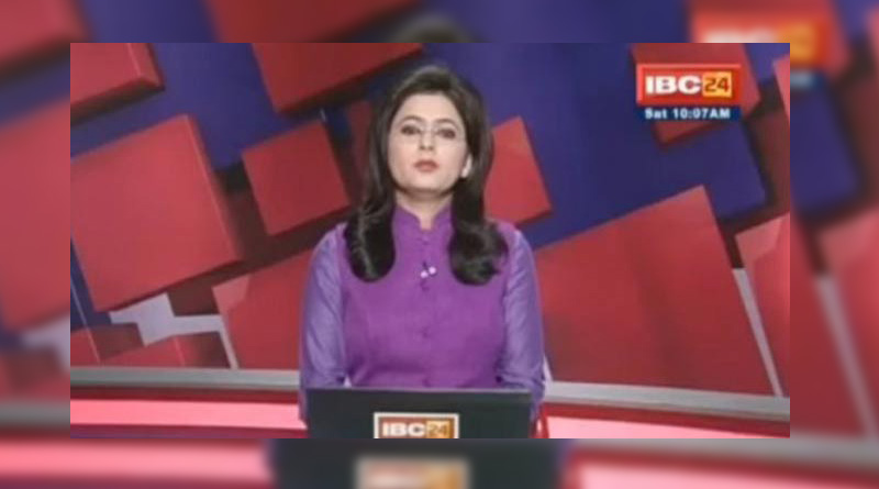 Chhattisgarh TV anchor reads out breaking news of her husband's death