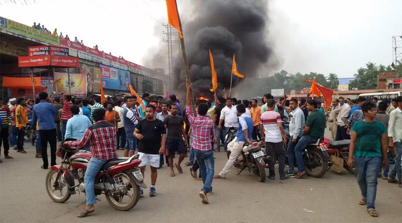Curfew reimposed in the Bhadrakh
