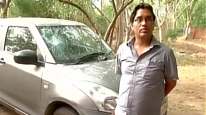 JNU professor says his car was vandalised and Stone pelted at home for condoling death of jawans in Sukma and Kashmir