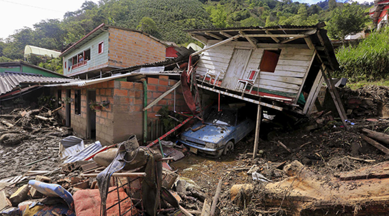 Colombia lndslide death toll rises to 254