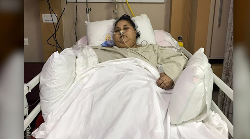 Heaviest woman Eman not responding to treatment, alleges sister