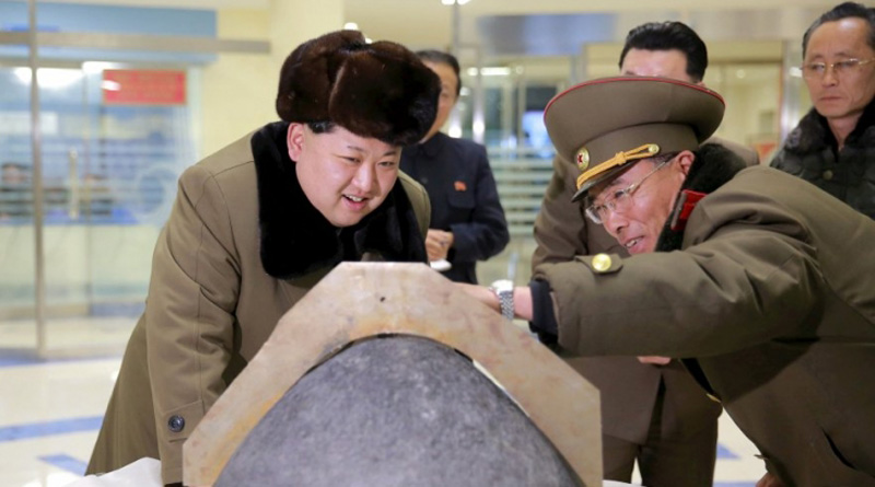 N Korea launches 'New Type' Of Cruise Missile