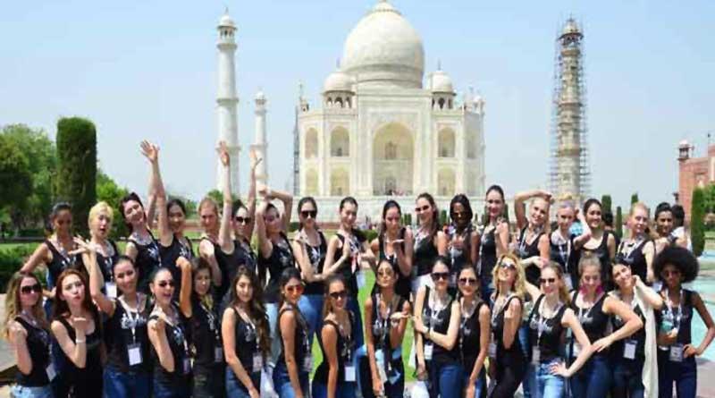 42 models asked to remove saffron scarves at Taj Mahal, Govt Orders Probe
