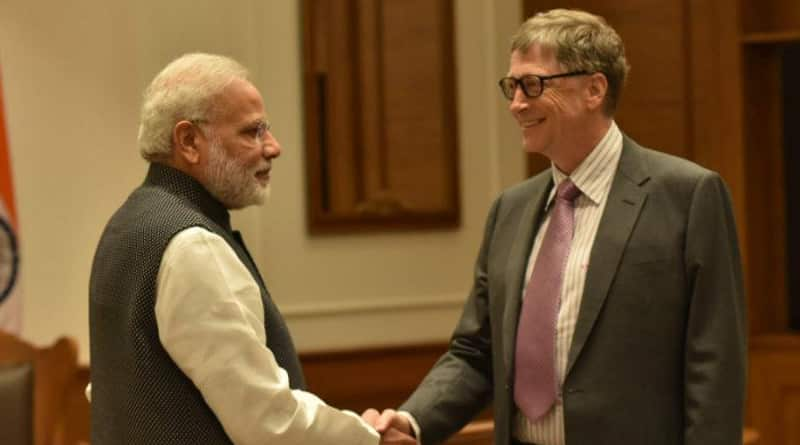 Bill Gates lauds PM Modi's 'Swachh Bharat Abhiyan'