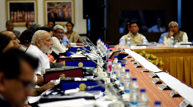 Vision of 'New India' can be realised only through combined efforts of all states: PM at NITI meet.