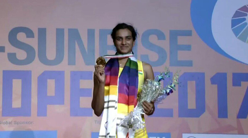 PV Sindhu beats Marin in a pulsating final