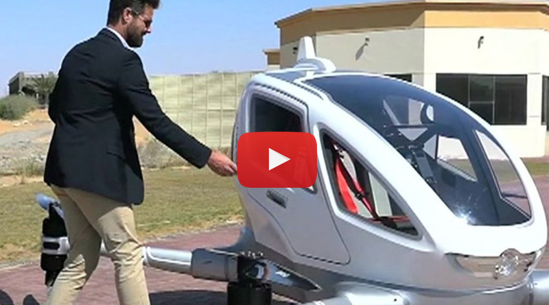 Sky taxis to take flight from july in Dubai