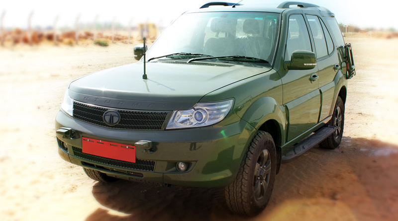 Tata Motors bags contract to deliver over 3,000 modified Safari Storme to Army and Navy